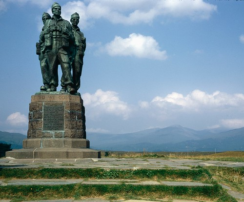 The Commando Monument at Spean Bridge