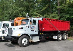 Township of Holmdel, NJ 2009 Peterbilt 340 roll-off No. 15 (JMK40) Tags: trash truck allison town garbage highway nj government refuse department holmdel municipal township peterbilt 340 rolloff paccar px8