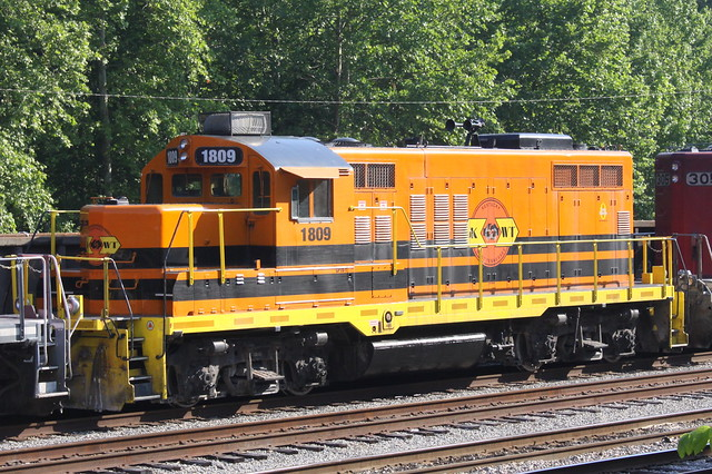 Kentucky West Tennessee (KWT)  Railroad 1809