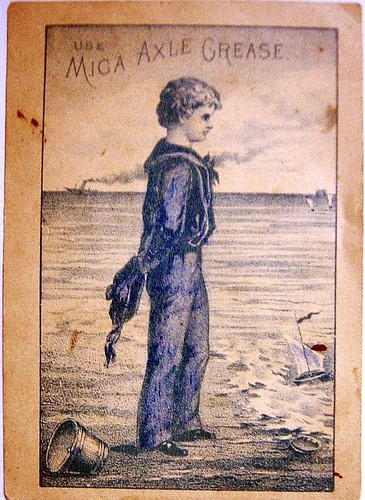 1897 Victorian Print ~ Addah ~ Gold Coast Africa ~ Boat Sailing Native Children Art