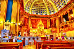 The High Altar (jahman3000) Tags: chicago church architecture basilica churches landmarks michelangelo virginmary renaissance highaltar chicagoarchitecture barrelvaultedceiling churchinteriors chicagolandmarks carraramarble catholicdiocese ladyofsorrows ourladyofsorrowsbasilica servites henryengelbert pietachapel centralaltar williambrinkman johnfpope gildedbalconies