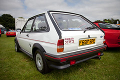 Ford Fiesta XR2 (<p&p>photo) Tags: auto show park uk summer white west classic ford car coast scotland fiesta display country rally 1988 july eglinton motor eglintonpark carshow irvine scots ayrshire xr2 motorcar fordfiesta classiccarshow 2013 classiccarrally westcoastrally worldcars eglintoncountrypark fordfiestaxr2 july2013 autoscots f697spe