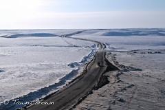 IMG_1813e-NPsm (Tawna Brown) Tags: winter snow aerial arctic transportation northwestterritories diefenbaker roadtoresources egrubenstransport inuviktuktoyaktukhighway tawnabrownphotography