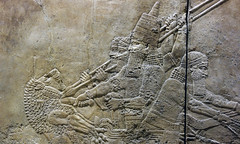 Lion Hunts of Ashurbanipal, kill