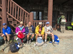 at Granite Park Chalet (jcoutside) Tags: montana backpacking glaciernationalpark