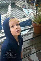Looking up at the rain (grilljam) Tags: summer ewan 4yrs peaksisland september2013