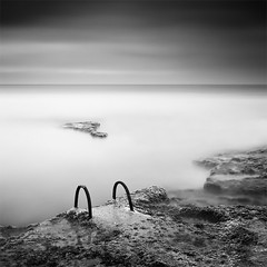 The Stair (DavidFrutos) Tags: longexposure sea bw costa seascape beach water monochrome rock clouds sunrise square landscape monocromo coast mar agua rocks stair fineart playa paisaje bn minimal explore alicante amanecer filter le lee nubes minimalism minimalismo canondslr roca rocas 1x1 waterscape 1b torrevieja filtro largaexposicin filtros neutraldensity explored canon1740mm gnd8 graduatedneutraldensity densidadneutra davidfrutos cabocervera 5dmarkii niksilverefexpro leebigstopper hitechreversegnd06