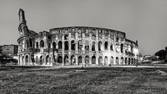 """Colosseo BW • <a style=""""font-size:0.8em;"""" href=""""http://www.flickr.com/photos/92529237@N02/10080715683/"""" target=""""_blank"""">View on Flickr</a>"""