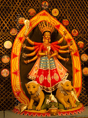 Durga Puja 2013, Rathtala, Pipulpati, Hooghly (Tapas Biswas) Tags: travel light woman india abstract color colour art girl face festival lady female festive outdoors artwork eyes hands nikon women nightshot image artistic antique candid crafts indian religion creative goddess culture craft creation clay hindu bengal puja durga durgapuja devine artisticphotography westbengal tranquilscene candidphotography d90 indianfestival indianculture hindugoddess durgafestival creativephotography festivalofcolor nikond90 clayidol nikod90 nikond9o incrediblebengal durgapuja2013
