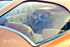 Split Window View (Hi-Fi Fotos) Tags: old classic chevrolet window glass vintage design beige nikon 60s classiccar view stingray antique interior curves tan khaki style icon 63 retro chevy chrome american 1960s corvette coupe vette sportscar 1963 splitwindow d5000 hallewell hififotos