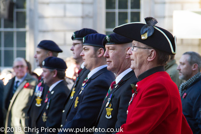 Remembrance Day Parade, London 10th Nov 2013