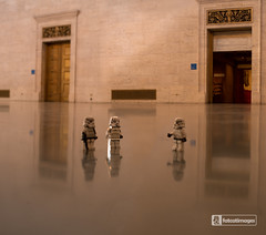Where are they? (fatcatimages LLC) Tags: lego stormtroopers knights greathall detroitinstituteofarts minifigures