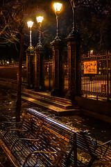 Jackson Sq. at Night (keithleblanc323) Tags: new nightphotography night bench square photography louisiana jackson oleans canondarkness