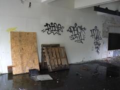 hide pack pork (httpill) Tags: streetart art graffiti tag graf detroit pork hide