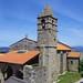 Eglise Nosa Señora das Areas, Finisterre, province de La Corogne, Galice, Espagne.
