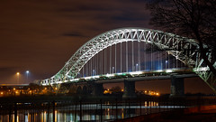 SAM_6691 (Neil MacG) Tags: bridge architecture night unitedkingdom merseyside runcornwidnesbridge
