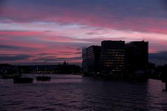 amsterdam (wojofoto) Tags: amsterdam hetij ij cs westerdok skyline lucht sky colour clouds wolken sunset stadsarchief wojofoto wolfgangjosten