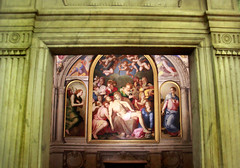 Palazzo Vecchio - Florence, Italy (The Web Ninja) Tags: travel italy color architecture canon painting religious photography design photo florence mural colorful europe religion jesus palace ceiling christian explore canonrebel traveling palazzo florentine palazzovecchio explored vechhio t2i