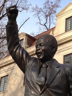 From http://www.flickr.com/photos/87913776@N00/11270863865/: Nelson Mandela statue, Washington DC