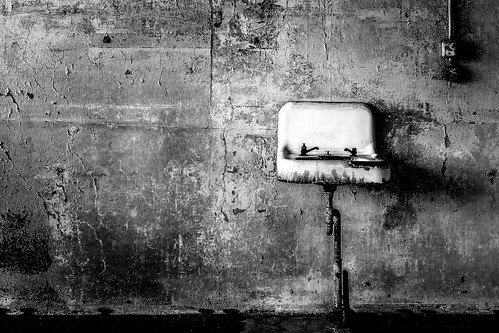 Old Sink, Alcatraz, San Francisco