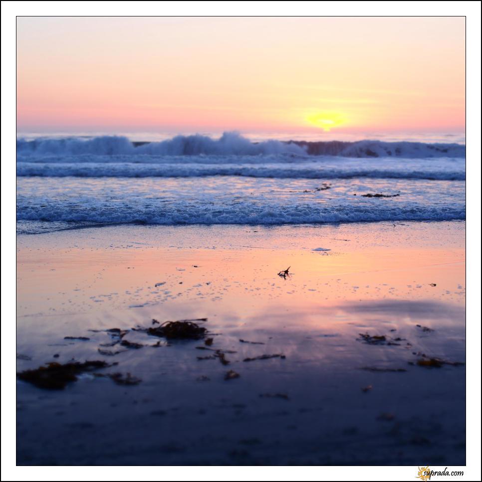 Sunset on Carmel Beach