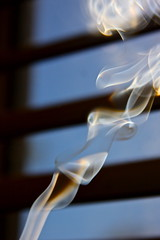 Smoke Shapes and Patterns (ChristinaPhelps808) Tags: lighting abstract window smoke surreal blinds incense
