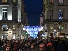 JOYEUX NOEL ! - Illuminations de Nol, Bordeaux - 23 dcembre 2013 (Jonathan d[-_-]b) Tags: christmas light night noche bordeaux noel lumiere dcoration aquitaine gironde
