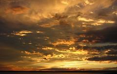 Sunset 2 (Lost in Flickrama) Tags: sunset wild sky nature fire nationalpark yellowstone wyoming thorofaretrail