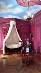 La camera del fratello di Napoleone nel Castello di Villandry