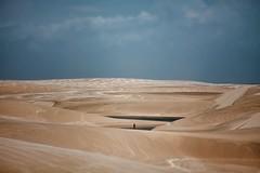 A World Alone (cisco image ) Tags: sky color clouds canon landscape sand nuvole alone desert dune cisco cielo soul brasile maranho sabbia barreirinhas lenzuola soulsound eos5dmarkii lenismaranhensesnationalpark