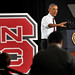 President Barack Obama announces the creation of the Next Generation Power Electronics Innovation Institute, an energy research consortium to be led by NC State.