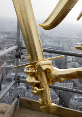 D200_20081027_152923 (martin juen) Tags: vienna wien austria sterreich dom kunst kirche architektur stephansdom turm trme renovierung aut geschichte 27102008 27oktober2008 martinjuen