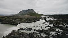 jfafoss  and Brfell (jonferry) Tags: mountain landscape volcano waterfall iceland brfell thjofafoss jfafoss burfell jrsrdalur vsco thjorsardalur