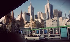 What a City Skyline mate ? Melbourne . Cheers. (Gotofen) Tags: city urban streets tower art car skyline vintage photography reisen kunst australia melbourne explore backpacking stadt outback cbd australien traveling aussicht flickrandroidapp:filter=none