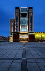 Baltic (Glenn D Reay) Tags: art newcastle lights gallery dusk stones baltic gateshead paving bluehour quayside sigma1770 pentaxart pentaxk30