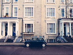 This is Bloody British (ohaday) Tags: travel london vintage olympus minicooper british kensington em5