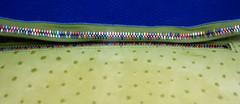 Boîte de Pandore (Anne*°) Tags: colors leather skin couleurs ostrich zipper zip peau autruche crémaillère intertwining 2014 cuir pandorasbox fermetureéclair tirette entrelacs glissière ©annedhuart boîtedepandore strausenleder