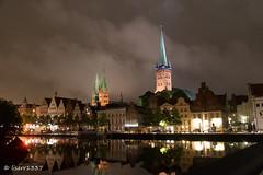 Lübeck bei Nacht (lisarr1337) Tags: lübeck