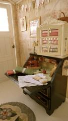 Vintage Sewing Desk