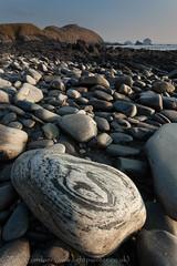 Rocky beach by Faraid Head, Durness (tomgardner) Tags: uk greatbritain sea beach rock stone coast scotland highlands europe european unitedkingdom britain scottish highland environment british geology sutherland durness