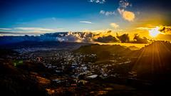 Deslumbrante Santa Cruz (pepoexpress - A few million thanks!) Tags: nikond600 nikon24120 nikond60024120mmf4 d610 d61024120mmf4 pepoexpress landscape clouds sky skyline tenerife santacruzdetenerife goldenhour horamgica horadorada sunset