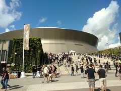 Superdome on Sunday (skooksie) Tags: superdome neworleans louisianasuperdome saints