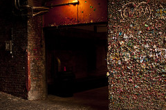 Pike Place Market gum wall in alley (Jim Corwin's PhotoStream) Tags: markettheatre nw northamerica pacificnorthwest pikeplacemarket seattle abundance alley architecture arrangements attractions bubblegum building candy chewinggum covered creativity dark day daytime destinations display downtown entrance facade fad food fresh fun funny gum gumwall horizontal humor humorous individuality landmark local market merchant multicolored nobody northwest openairmarket outdoors pattern patterns penairmarket photographing photography placestosee publicart shadows sideofbuilding sightseeing sticky strange stuck sweets takingpics tourism tourists travel trend unique urbanscene variation variety wall weird