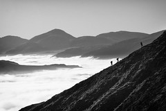 Blencathra Temperature Inversion (nigelhunter) Tags: blencathra saddleback temperature inversion cloud coledale fells mountain derwent valley grisdale pike walkers ridge grasmoor ill crag