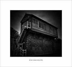 the old signal box.... (bevscwelsh) Tags: railway sonya700