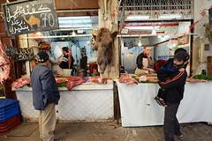 MOROCCO (BoazImages) Tags: morocco moroccan fes fez market souk bazaar camel camelmeat camelhead boazimages maghreb northafrica northafrican