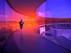 Rainbow bridge@Aarhus Art Museum (MelindaChan^^) Tags: denmark  chanmelmel mel melinda melindachan travel tourist tour scandinavian aarhus