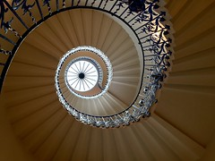 """The spiral staircase at Queen""""s House, Greenwhich 4 (Winniepix) Tags: stair spiral steps bannister cupola light"""