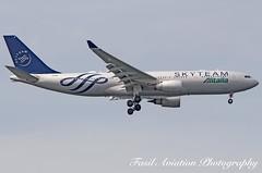 Alitalia Airbus A330-202 EI-DIR (MSN007) Tags: alitalia airbus a330202 eidir air airways airlines airport jfk kjfk skyteam sky team a330 200 jet aircraft airplane airliner jetliner