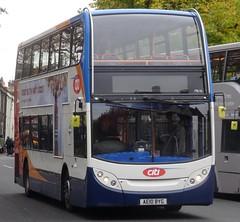 Cambridge (Andrew Stopford) Tags: ae10byg adl enviro400 stagecoach cambridge citi